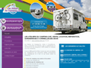 screenshot http://www.camping-car95.com magasin achat vente camping car cergy val-d'oise