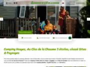 Camping Le Clos de la Chaume 3 étoiles à Gérardmer