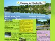 Camping et lac les Chanterelles en Auvergne