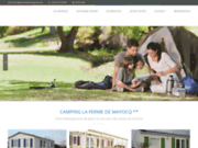 screenshot http://www.camping-lecrotoy.fr camping baie de somme