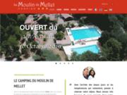 screenshot http://www.camping-moulin-mellet.com/ camping aquitaine agen