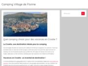 screenshot http://www.camping-villagedeflorine.com le village de Florine