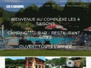 screenshot http://www.camping4saisons.com camping montagne pyrénées