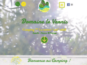 screenshot http://www.campingdomainelevernis.fr Camping familial en pleine nature