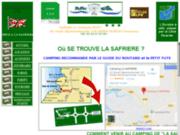 screenshot http://www.campinglasafriere.com/ camping la safrière