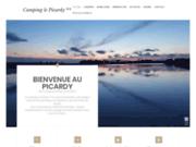 screenshot http://www.campinglepicardy.com camping-hotel de plein air en picardie