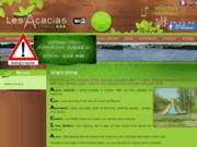 Camping Les Acacias à Tours : location de mobil home
