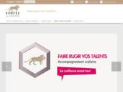 screenshot http://www.campus-des-savoirs.fr cours de soutien - reims - soissons -