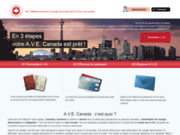Autorisation de voyage électronique (AVE) pour le canada