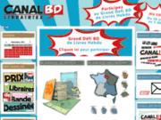 Réseau Canal BD, libraires indépendants