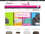 screenshot http://www.canape-inn.com canape inn : vente de canapés personnalisables, d'angle, convertibles, fauteuils, chaises, poufs