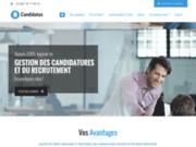 screenshot http://www.candidatus.com logiciel de recrutement : candidatus.com