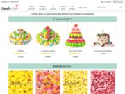 screenshot http://www.candy-mail.com gateau de bonbons anniversaire mariage baptème fêtes  - confiserie nougat caramel guimauves dragees