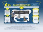 screenshot http://cani-formation.fr cani-formation