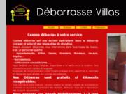 screenshot http://www.cannes-debarras.com Débarrasse tout  d'Antibes à Monaco.