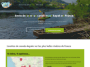 screenshot http://www.canoe-france.com/vezere/ canoe vezere