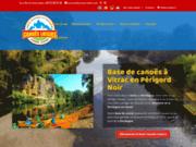 screenshot http://www.canoes-loisirs.com location de canoes sur la dordogne,activite de ple