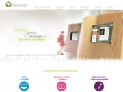 screenshot http://www.canopee.cc canopée, agence de communication corporate,