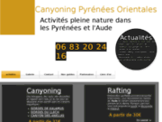 Canyoning rafting pyrenees orientales et aude