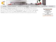 screenshot http://www.cap-cuisines.fr artisan cuisiniste - cuisines modernes et contemporaines, provençales et traditionnels
