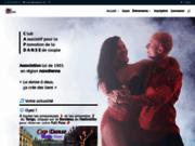 screenshot http://www.capdanse.net/ cap danse - association pour la promotion des danses de couple sur nancy