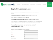 Capital investissement