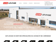 screenshot http://www.caplevage.com manutention dans la Vienne 86