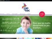 screenshot http://www.capsurlebac.fr cours particuliers dans le Nord