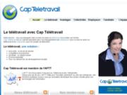 screenshot http://www.capteletravail.fr télétravail