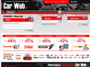 screenshot http://www.car-web.fr pièces détachées à bas prix