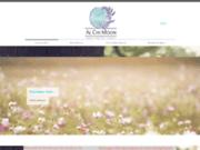 screenshot http://www.caracterre.be/ carac'terre, centre d'aromathérapie