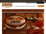 screenshot http://www.caramels-isigny.com vente caramel isigny