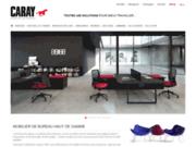 screenshot http://www.caray.fr bureau caray : mobilier de bureau pour entreprises
