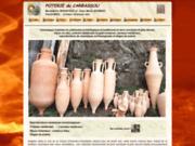 screenshot http://www.carbassou.com poterie du carbassou