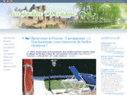 screenshot http://www.carcassonne-gite.com/ carcassonne-gite : les jardins d'occitanie