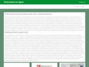 screenshot http://www.carestorevotrepharmacie.com carestore, votre pharmacie : concept et agencement