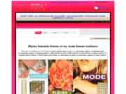 screenshot http://www.carladora.com sac à main femme tendance