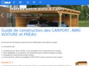 screenshot http://carport.megabricoleur.com/ guide de construction de carport