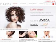 screenshot http://www.carpy-vierzon.com coiffeur à Vierzon 18