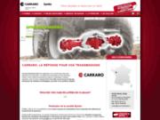 screenshot http://www.carraro-distribution.fr/ HDS