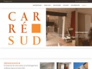 screenshot http://www.carresud.fr/ Carre Sud