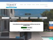 screenshot http://www.carrezimmobilier.fr/ la franchise immobilière carrez immobilier