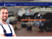 screenshot http://www.carrosserie-dunoise.com Carrosserie Dunoise