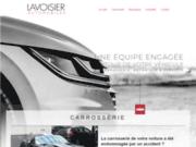 screenshot http://www.carrosserielavoisier.com Carrosserie Lavoisier