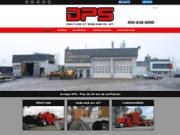 screenshot http://www.carrosseriesdps.com/accueil/fr carrosserie dps: le sablage au jet, lettrage, galvanisation, application de peinture et antirouille