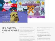 screenshot http://www.carte-anniversaire.net carte virtuelle anniversaire