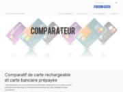 screenshot http://www.carte-rechargeable.com la carte bancaire prépayée