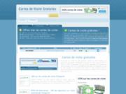 screenshot http://www.cartes-de-visite-gratuites.fr cartes de visite gratuites