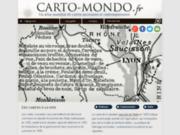 Cartes du monde : les cartes des pays du monde
