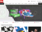 screenshot http://www.casal-handball.com équipements